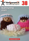 Gli schemi amigurumi per uncinetto in italiano di Amigurumi.it: NATIVITA' mini (album 38)