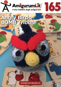 Amigumi.it - Schema uncinetto amigurumi n.165 - Angry Birds BOMB Tribute